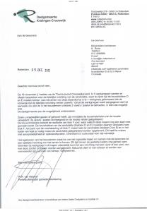 20131205 bewonersbrief informatie over egaliseren zandvlakte bouwblokken D en E in Nieuw Crooswijk